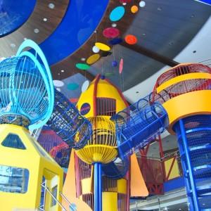 birthday party venues, Girias Children's Explorium Play Maze, play areas