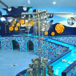 Giros Children's Explorium Water Splash, play areas
