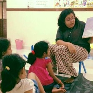 Storytelling at My Little Chatter Box