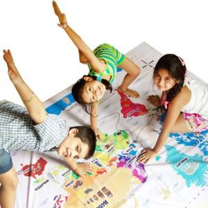 CocoMoco Kids, World Map