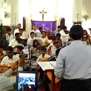 Music International Performance at Church