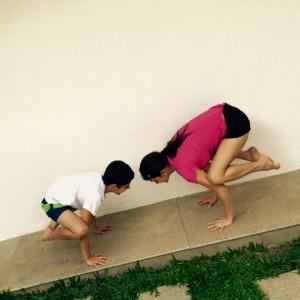 Puraw Vida Frog Posture Yogasana