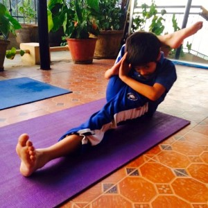 Puraw Vida Yoga for kids