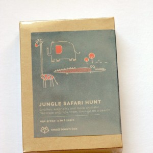 Small Brown Box Activity Box Packaging