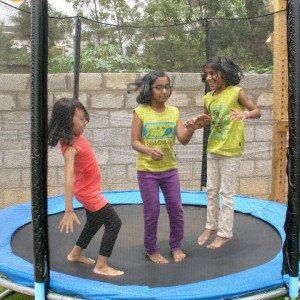 Sun Bird Early Learning Centre Trampoline