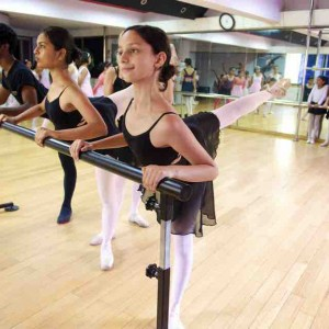 The Lewis Foundation Ballet Class Balancing