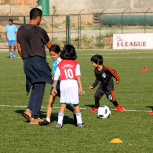 Bangalore Youth Football League Toddler Team