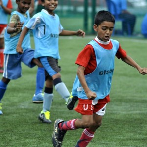 Bangalore Youth Football League Young Students