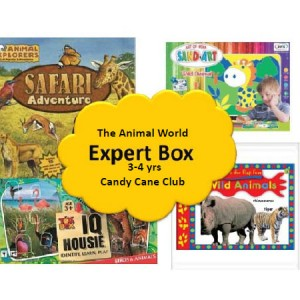 Candy Cane Club Animal World Box
