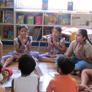 Discover Kids Storytelling workshop