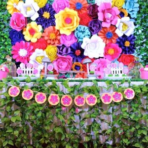 Jamboree Floral Backdrop