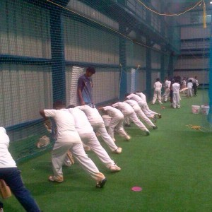 Just Cricket Academy Batting Practise