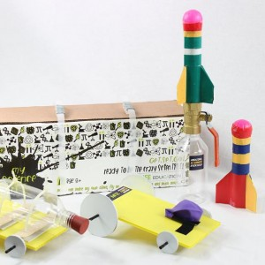 Zlife Education Rocket Activity Box