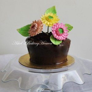 Ashels Baking Heaven Flower Cake
