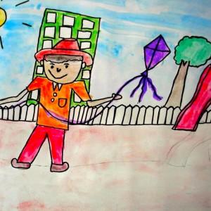 Bangalore Lalit Kala Kshetra Children Art