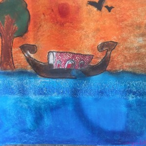 Chhavi Art Classes Water Color Painting by Students