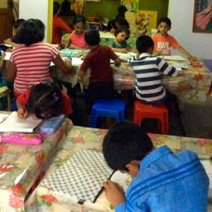Colour Crafts Art Class for Kids