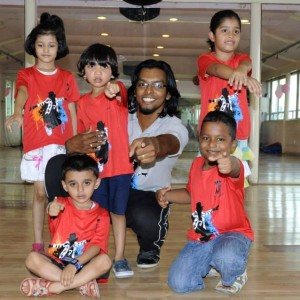 Dcruze Dance Studio Students and Coach