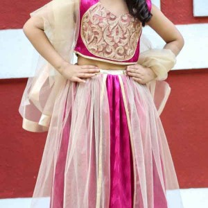 Flutterbows-Kids-Indian Lehenga