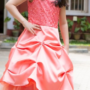 Flutterbows Kids Pink Dress