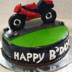 Great Escake Bike Cake