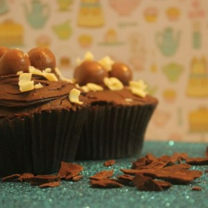 Great Escake Chocolate Nutella Cupcake