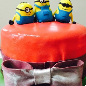 Great Escake Minions Cake