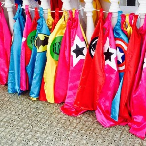 Happyness Super Hero Capes