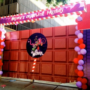 Happyness Wonka Chocolate Factory Entrance