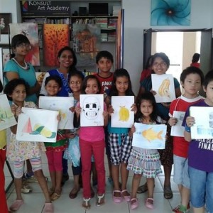 Konsult Art & Design Academy Drawing Class