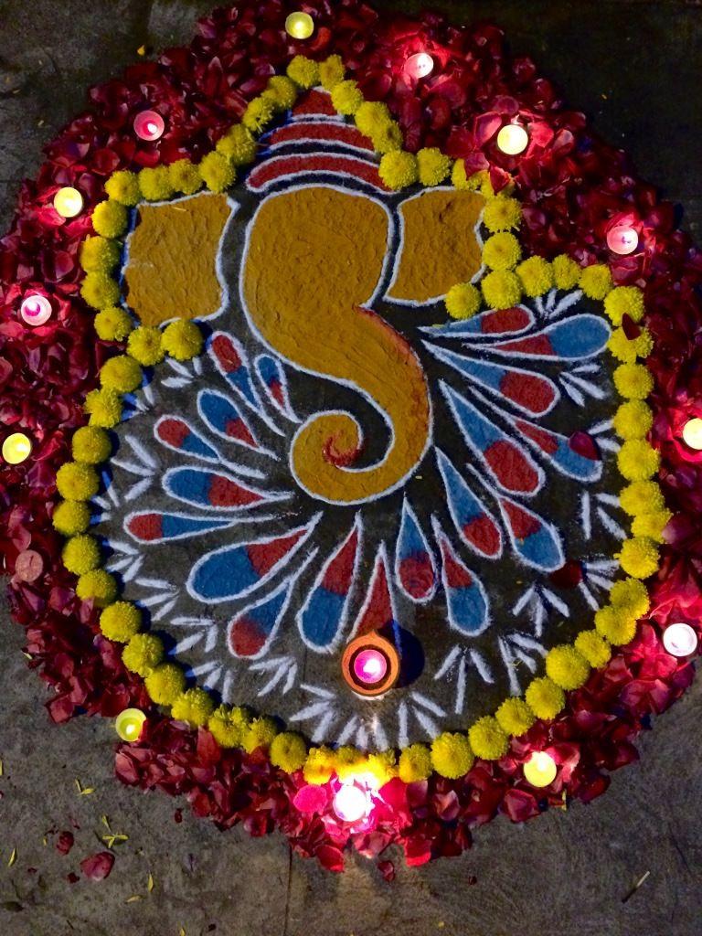 ganesha images for rangoli - photo #32