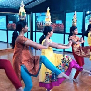 Nandini's The 9th Count Dance Academy Balancing while Dancing