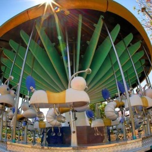 Wonderla, Amusement park, Magic mushroom