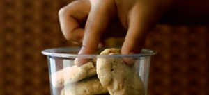 Whole wheat cookies, almond cookies