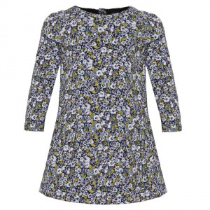 Gap Floral Long Sleeve Dress