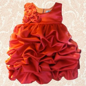 ISM Red Dress for Little Girls