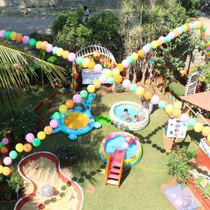 One Fab Party Pool Party Theme Decor