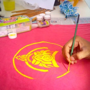 Panduranga Arts Fabric Painting1