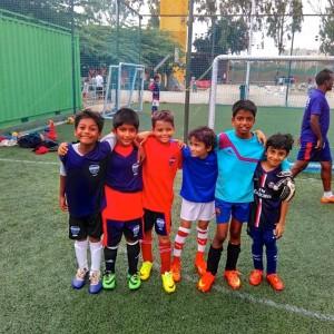 Paris Saint Germain Football India Junior team