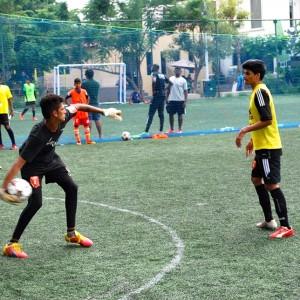 Paris Saint Germain Football India Practise Session