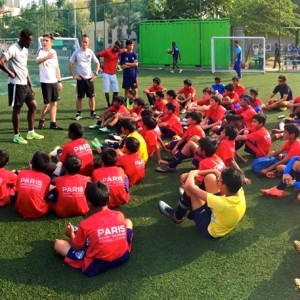 Paris Saint Germain Football India Team Building
