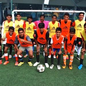 Paris Saint Germain Football India Team ready for the Game
