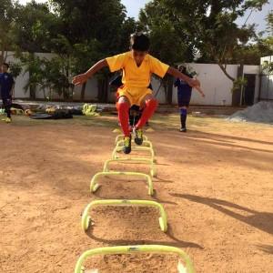 Paris Saint Germain Football India Workout