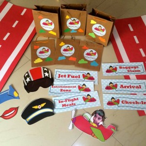 Party Makers Airplane Party heme Giveaways