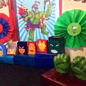Party Makers Hulk Theme Decoration