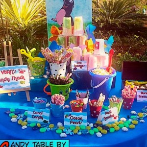 Party Makers Treat Table