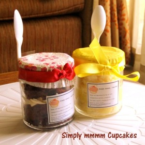 Simplymmmm Cupcakes Jar Dessert