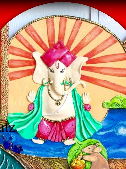 The best drawing and art classes for kids in bangalore for Mural ganesha