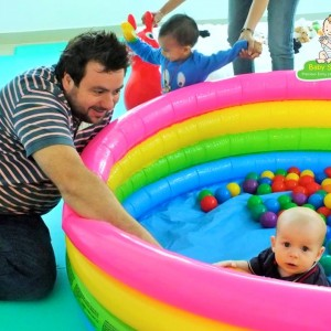 Baby Sensory Infant in Ball Pool