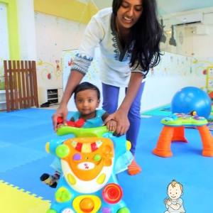 Baby Sensory Taking Baby Steps